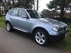X3 Diesel Sport 2.0 4X4, Full Service History, Full Leather Interior.