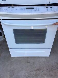 Slide in Ceramic Top Stove and Microwave