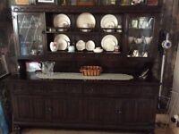 Very Dark Oak Dresser