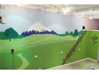 Transform any space with a custom mural