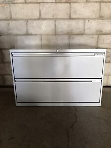 Grey 2 Drawer Filing Cabinets - Free Delivery