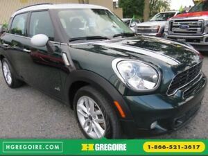 2014 Mini Cooper COUNTRYMAN S AWD AUT A/C MAGS TOIT BLUETOOTH EC
