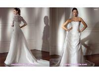 Pronovias desvan wedding dress