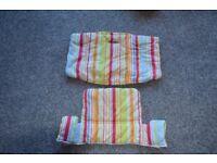 Stokke Tripp Trapp striped cushion set