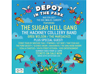 Depot in the Park ticket