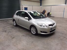 07 Reg Toyota auris tr D4d 6 spd low miles guaranteed cheapest in country