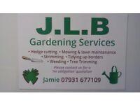 J.L.B gardening service