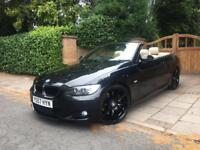 FULLY LOADED BMW 330D M SPORT CONVERTIBLE FSH