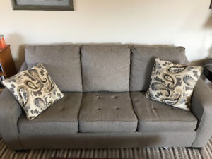 Beautiful Sofa Bed and Matching Love Seat