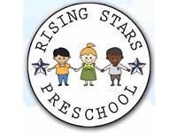 Preschool NVQ Level 3 Nursery Nurse (40 hour/Week)