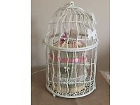 Small vintage looking Birdcages x 8