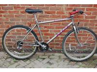"1995 REECE Exocet 19"" frame Retro steel mountain bike MTB - Rare Vintage"