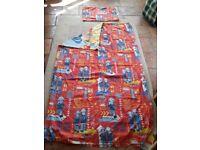 Fireman sam single duvet cover and pillowcase
