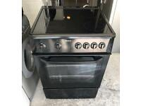 60CM BEKO GLASS PLATE ELECTRIC COOKER EXCELLENT CONDITION, 4 MONTH WARRANTY
