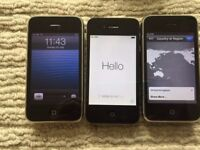 iphone 3GS 16GB and iphone 4 16GB