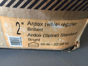 Box of Nails - 50 lbs - 2In Ardox Spiral