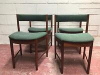 Set of 4 mcintosh dining chairs