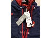 Navy Spider-Man 2-3 boy/toddler coat (brand new still with tags)