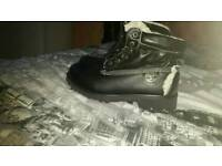 Adult timberland boots size 7 new