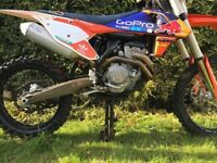 Ktm sxf 350 2016 *STUNNING BIKE*Manual And receipts *10-15hours