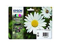 Brand New Genuine Epson Multicolour Print Cartridges 18 XL (Claria)