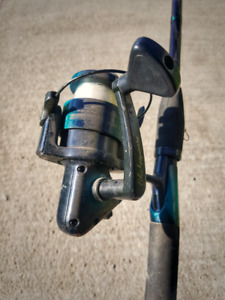 Fishing Rod & Reel with Extras