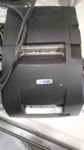 Epson TM-U220D Kitchen POS Receipt Printer M188D w/ AC Adapter a