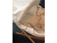 Mamas and Papas Moses Basket and Stand gone pending collection