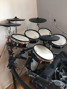 roland td-20 with extra aux