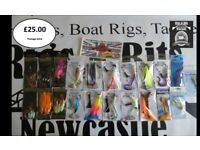 SEA FISHING RIGS, BOAT PACK