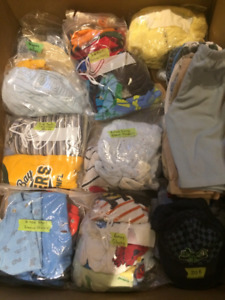 Baby boy clothes (3-6 months) - $1 each