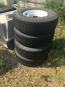 LT235/85R16 Wild Country XTX Load Range E