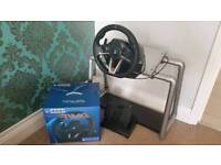 Hori racing wheel apex for ps4 like new