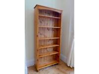 Solid Pine Book Shelf / Shelving / Storage
