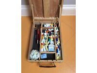 Chatsworth combined painting easel and box