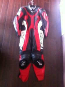 Teknic 1pc leather motorcycle racing suit