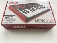 Akai Professional MPK Mini 25-Key Portable USB MIDI Keyboard - Brand New - Never Used