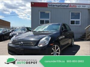 2006 Infiniti G35X AWD | ONLY 117K! | LEATHER