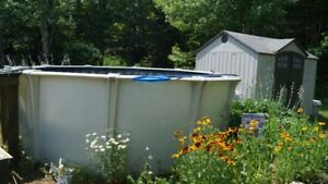 ABOVE GROUND POOL - great deal!