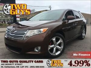 2010 Toyota Venza 3.5L AWD LEATHER ROOF ALLOYS BLUETOOTH