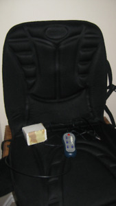 Heated seat for car or chair