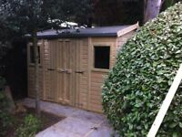 shed - brand new 7x5 £539 – tantalised wood, other styles & sizes available