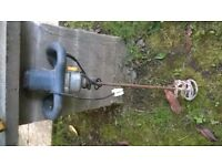 Mixer for Cement or Plastering .. Excellent Working Condition Powerful