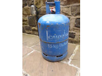 Empty Butane Gas Bottle Gas cylinder 15kg suitable for BBQ, Patio heater etc - just need to refill
