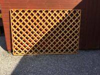NEW QUALITY WOODEN GARDEN TRELLIS PANELS 6FT X 3FT