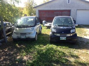 06  and 05 fortwo smart car