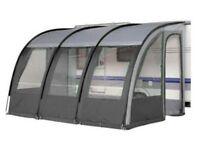 Ontario 390 XL Lightweight Caravan Porch Awning - Charcoal Grey