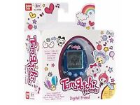 Tamagotchi Friends BLUE GEM Digital Friend, Official Bandai Product, Brand New Sealed