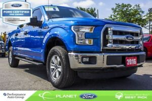 2016 Ford F-150 XLT FORD CERTIFIED LOW RATES & EXTRA WARRANTY