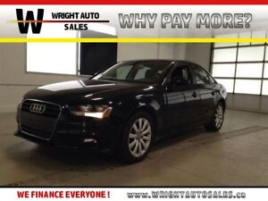 2013 Audi A4 2.0t| BLUETOOTH|AWD|LEATHER| SUNROOF| 75,692 KMS|